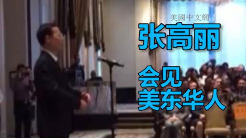 张高丽会见美东华人代表 谈中国应对气候变化
