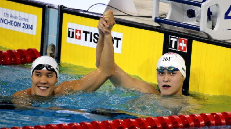 孙杨400米自游夺冠 获仁川亚运个人首金