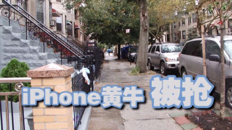 非裔劫匪专抢iphone6黄牛 华男卖家痛失14台新机