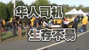 华人司机揭行业内幕 超时工作致疲劳驾驶