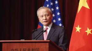 中国驻美大使馆举行国庆65周年招待会