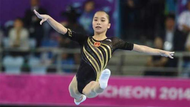 包揽女子个人全能金银 中国体操迈出里约奥运第一步