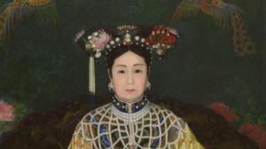 百年慈禧画像成功修复 曾为圣路易斯世博会展品