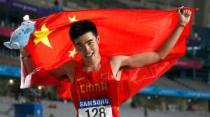 谢文骏首夺亚运金牌 不满意表现仍需提升