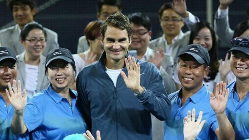 上海网球大师赛:费德勒专访