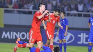 中国三球完胜 复仇残阵泰国