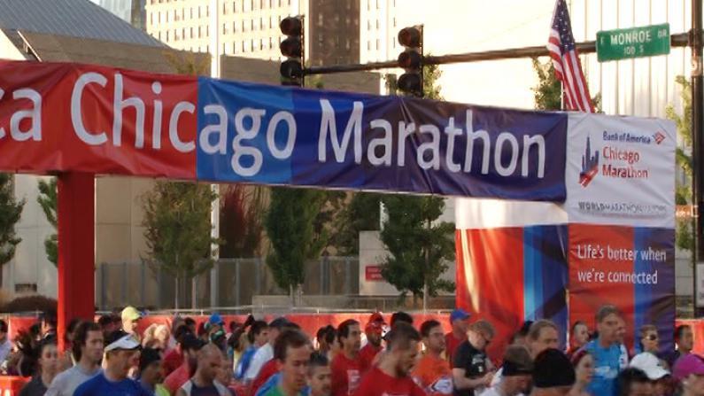 芝加哥马拉松比赛  肯尼亚选手蝉联双冠
