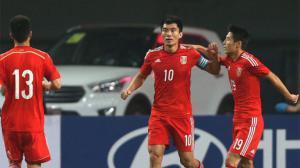 热身赛:郑智武磊建功 中国击败巴拉圭