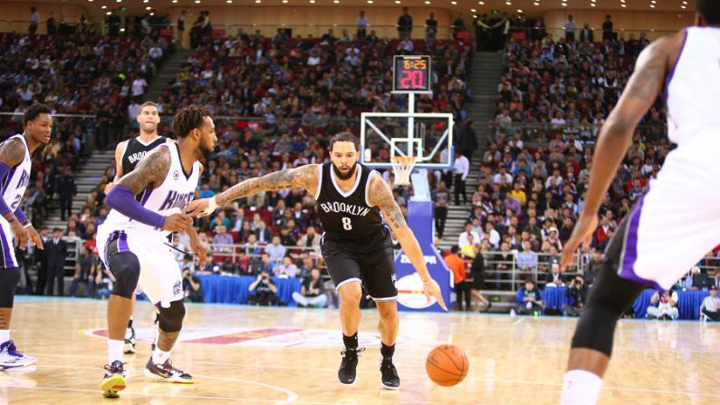 NBA十年中国赛 名宿聚首篮球不老