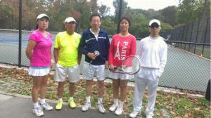 十月金秋到 纽约华人网球协会以球会友