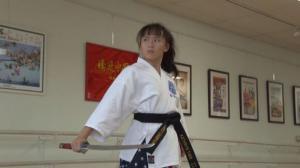 14岁14次获跆拳道空手道世界冠军 华裔少女田妤倩的习武之路