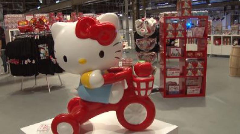 全球首届Hello Kitty博览会洛杉矶开幕     打造梦幻王国萌翻粉丝