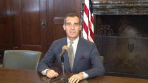 洛杉矶市长将展开首次访华行程 我台记者全程随行报道