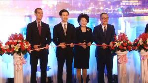 首家洛杉矶银行进驻中国  洛杉矶市长望促进跨境贸易投资