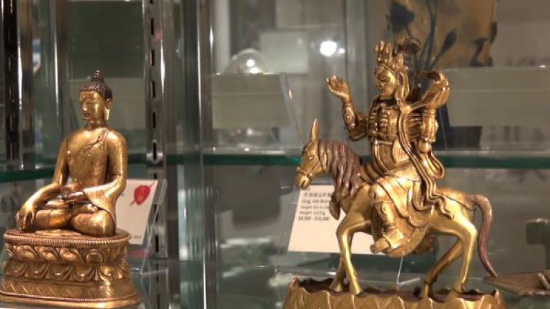 贞观国际圣诞新年拍卖会预热 西藏铜鎏金嵌宝挂画亮相