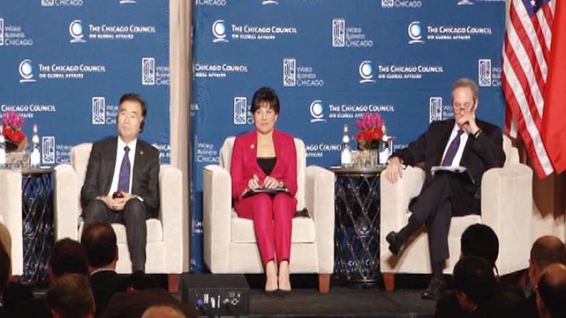中美商贸联委会芝加哥举行     汪洋:中美经济需机制化保障