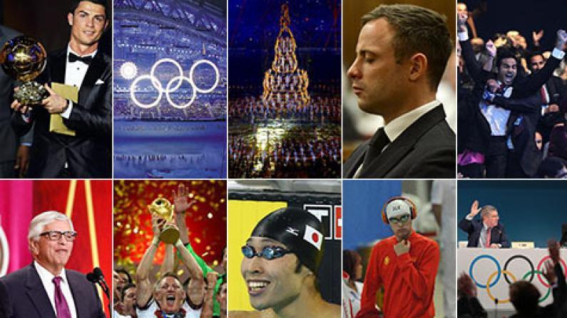 2014年世界体坛六大重要赛事