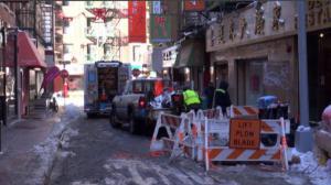 受雪盐侵蚀 华埠多处煤气管道出现泄漏 商家生意恢复