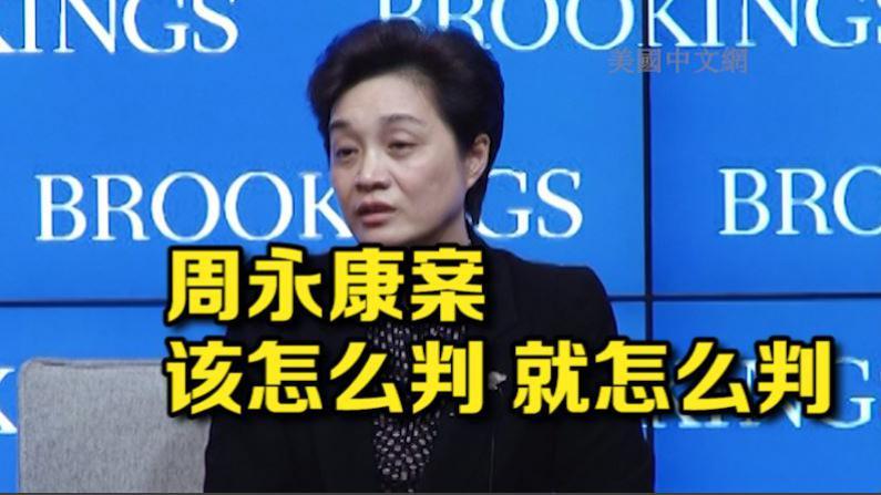 中国最高法副院长谈周永康案:依法该怎么判 就怎么判
