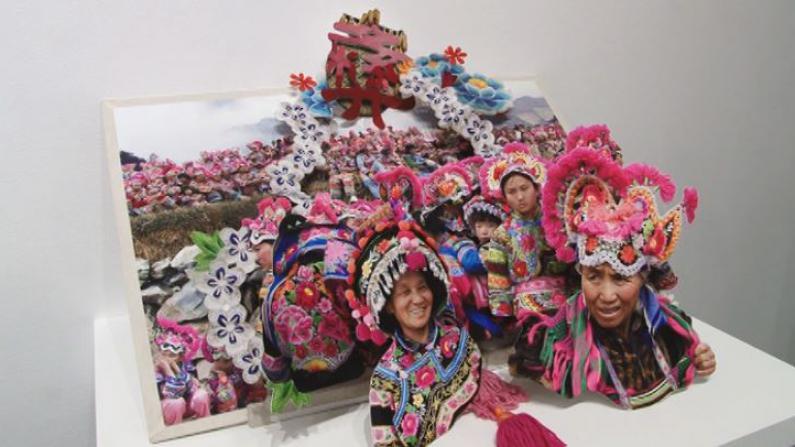 立体书呈现中国少数民族风情实录 艺术家傅三三带世界领略中华文化之美