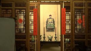 中国民宅亮相芝加哥艺术馆      微型屋体现中国艺术影响