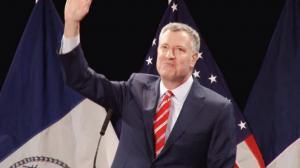 白思豪发表2015市情咨文 许诺一个住得起的纽约