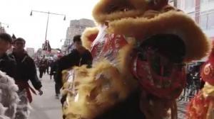 法拉盛新春大游行大年初三热闹登场 美国中文电视将现场直播