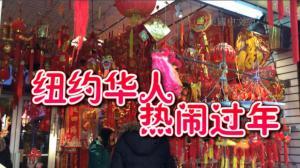 纽约华人热闹过年 家庭团聚拜年传统不能忘