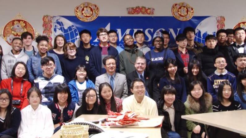 中美青少年华盛顿共庆春节 交流两国文化增进友谊