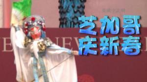 芝加哥全市庆新春中国年味浓 皮影戏剪纸展获盛赞