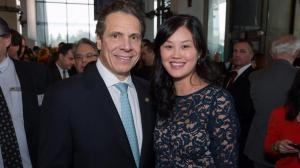 纽约州长库默任命华裔核心行政成员 有意下半年访中国