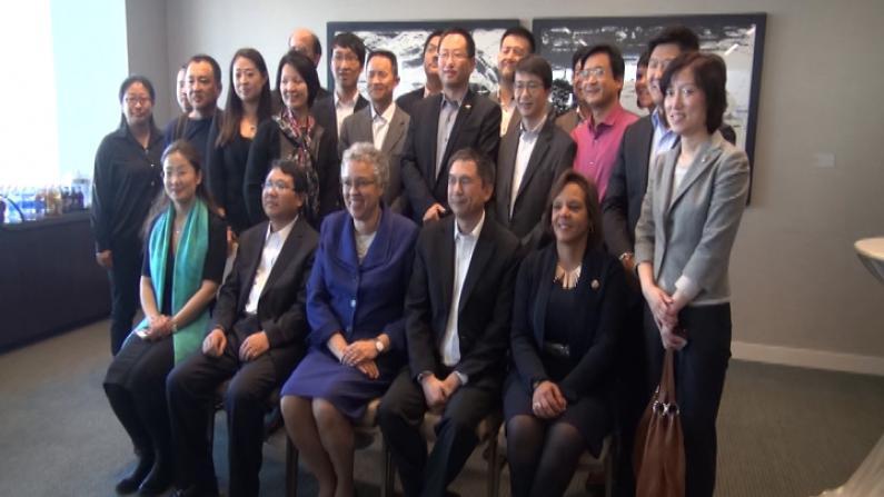 中国物流代表团访美 芝加哥寻商机