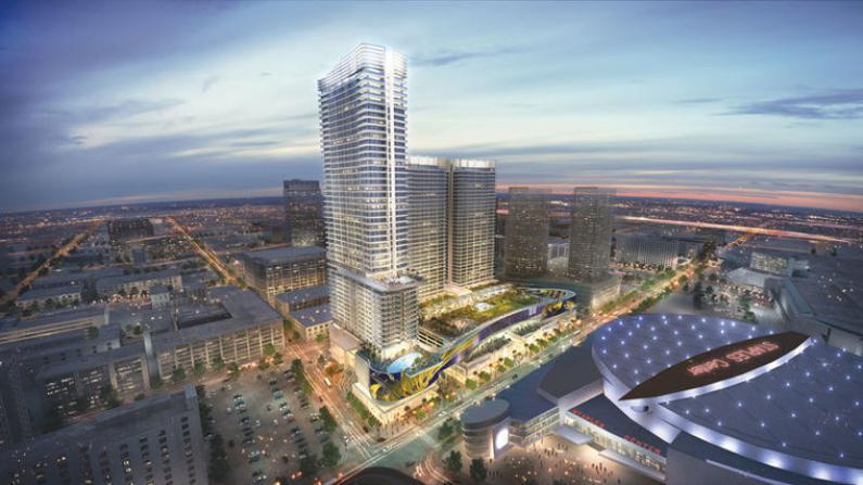 """中国房地产商投资 """"泛海广场""""项目洛杉矶市中心动工"""