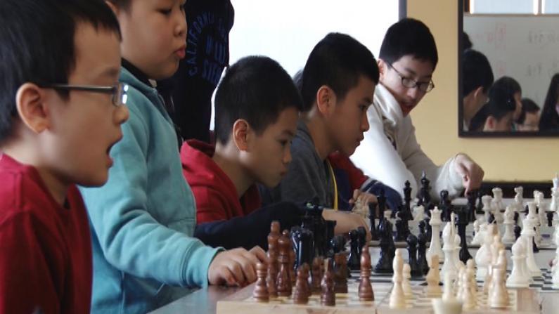 纽约国际象棋指导赛 与前中国国家少年队主教练对弈