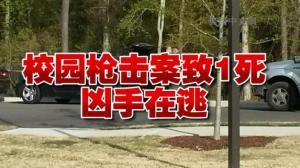 北卡一社区学校曝枪击案 一人死亡嫌犯在逃
