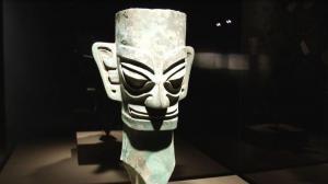 三星堆遗址文物休斯敦展出 123件珍品讲述中国失落古文明