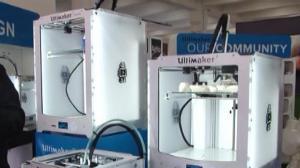 纽约3D打印展 记者带你领略世界尖端科技