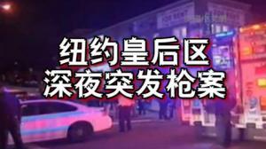 纽约皇后区深夜突发枪击案 枪手向警察开枪反被击毙