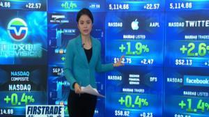 华尔街股市延续涨势早盘高开 苹果业绩盘后发布预期乐观