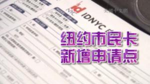 纽约市民卡新开放19个申请点 华裔民众络绎不绝