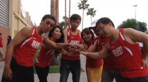 硅谷华裔马拉松做慈善 两天一夜长跑近两百英里