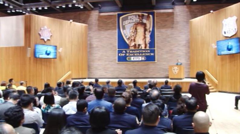 市警总局庆亚太裔传统月 亚裔新警员已占10%