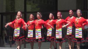 庆亚太裔传统月  芝加哥市中心举办中国日活动