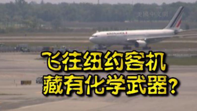 飞纽约三架客机被曝有化学武器 法航客机JFK机场紧急迫降