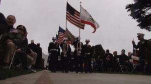 旧金山举行国殇日悼念活动 市长将为流浪退伍军人建廉租房