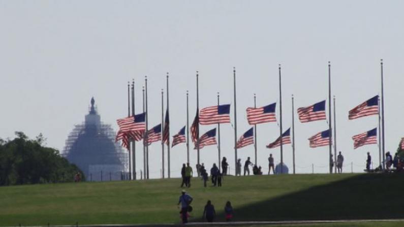 首都华盛顿举行多项国殇日纪念活动