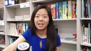 荣获总统学者奖 马州华裔少女羊梦接受本台专访