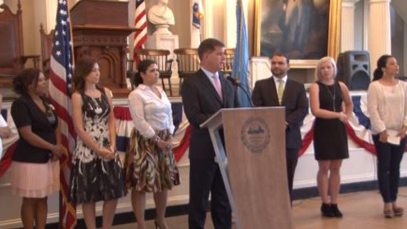 力挺暂缓递解行政令 波士顿市长吁国会行动