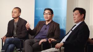 赵丽宏苏童冯唐华盛顿演讲 畅谈中国当代文学发展