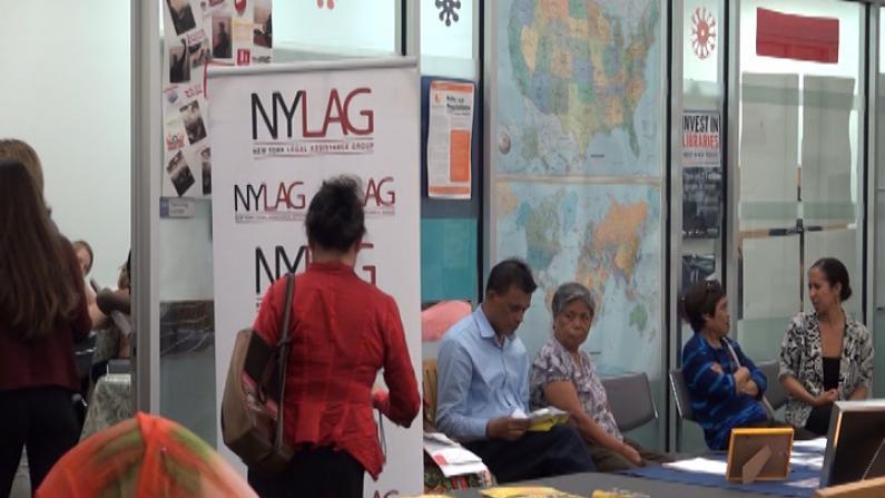 第二届移民资源博览会法拉盛举行